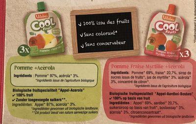 Cool fruits - Ingrediënten