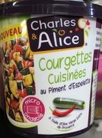 Courgettes cuisinées au piment d'espelette - Product - fr