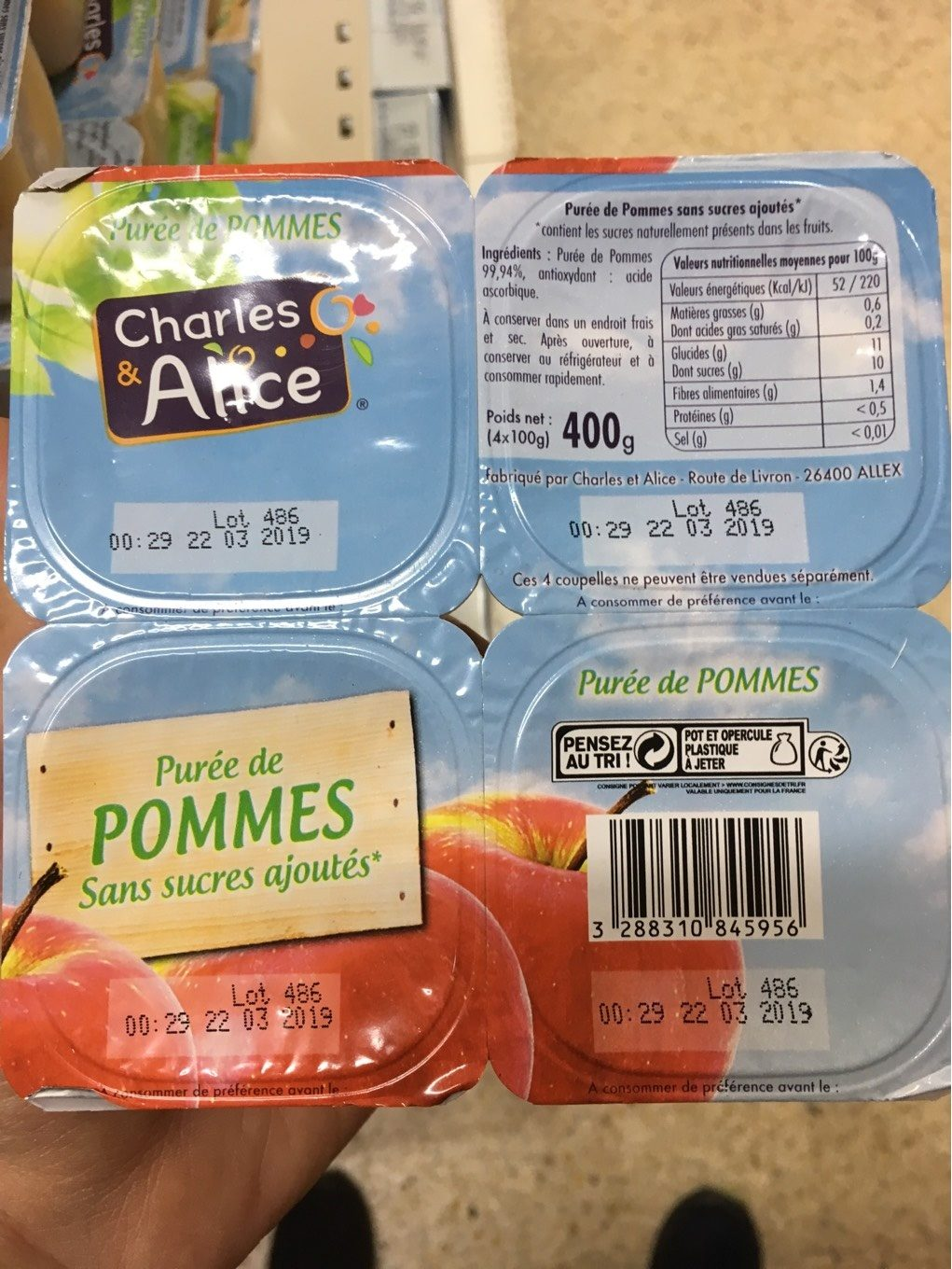 Puree de pommes - Product