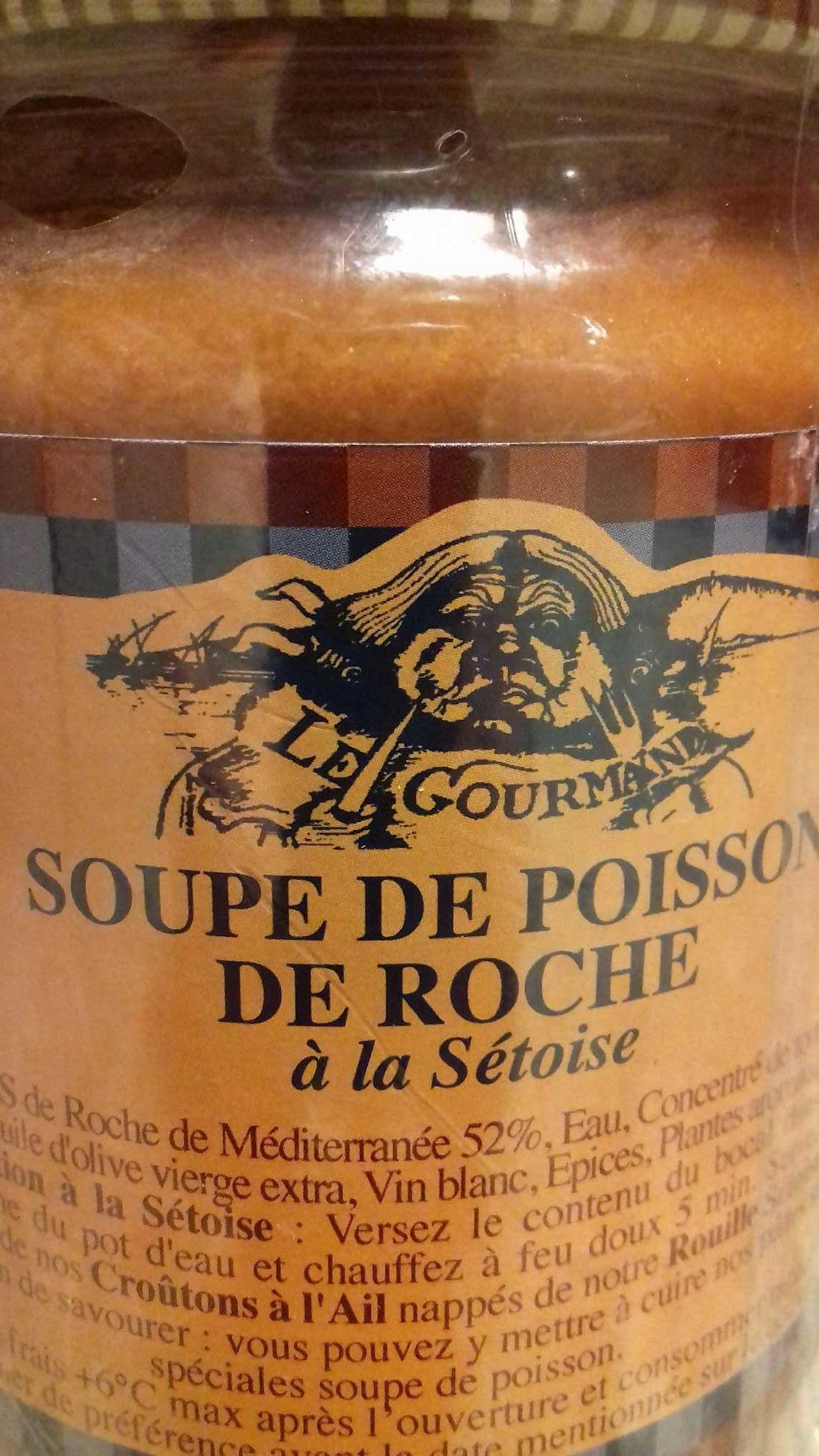 Soupe de poisson de roche à la sétoise - Product