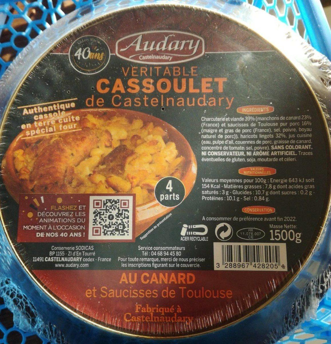 Cassoulet de Castelnaudary au Confit de Canard - Produit