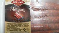 Merguez barquette - Informations nutritionnelles - fr