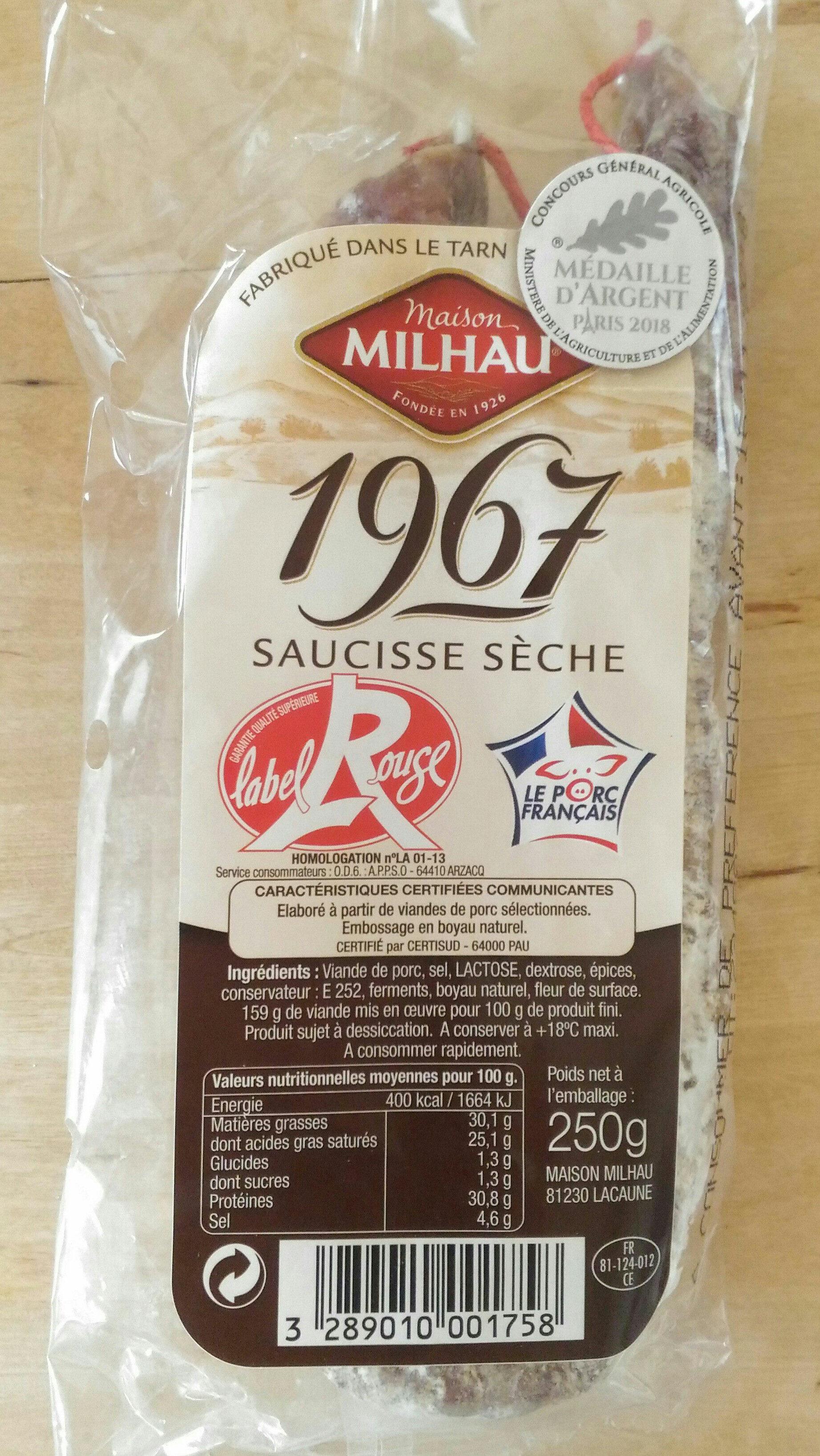 Saucisse sèche 1967 - Product