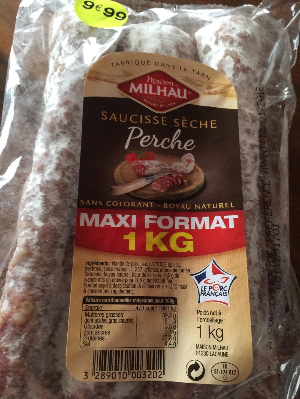 Saucisse seche - Product