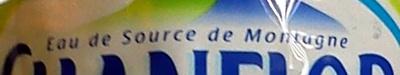 Eau de source de Montagne - Ingrediënten - fr