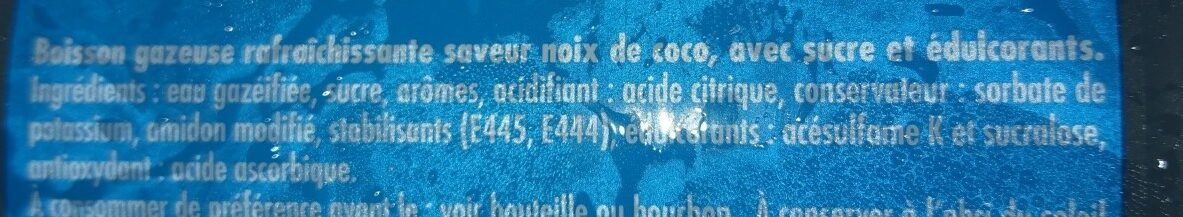 Schweppes Coco - Ingrédients - fr