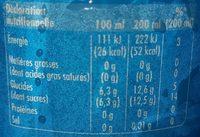 Schweppes Coco - Informations nutritionnelles - fr
