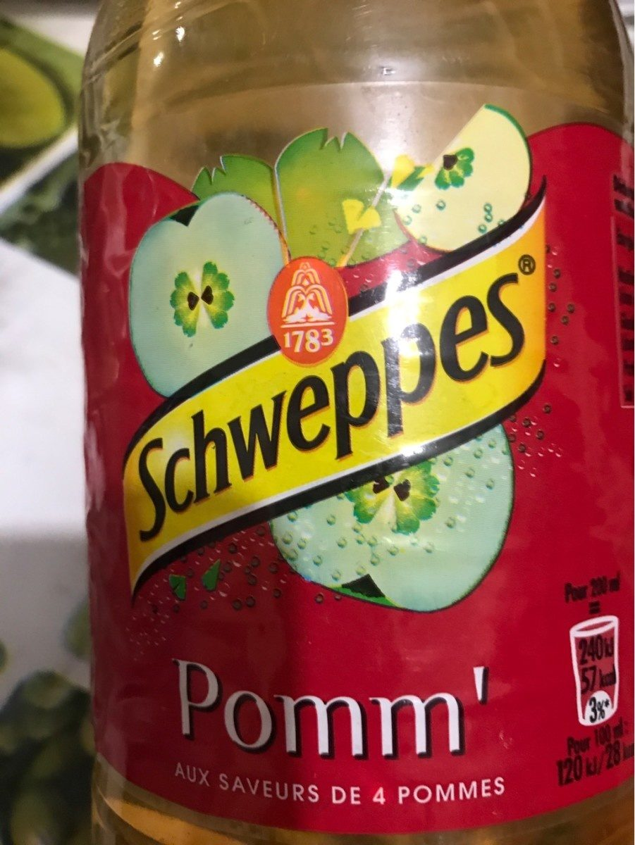 Schweppes Pomme - Produit - fr