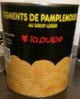 Segments de pamplemousse au sirop léger - Produit