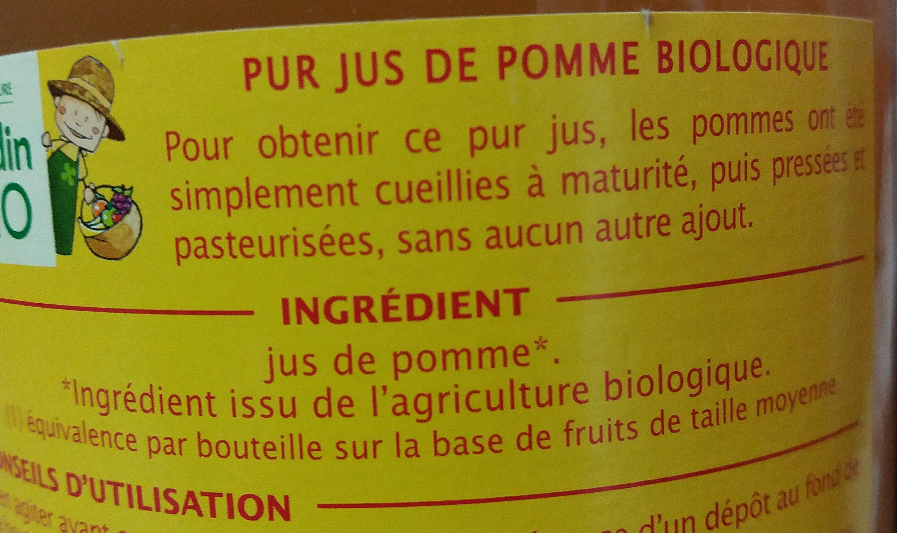 Pur jus de pomme trouble - Ingredients