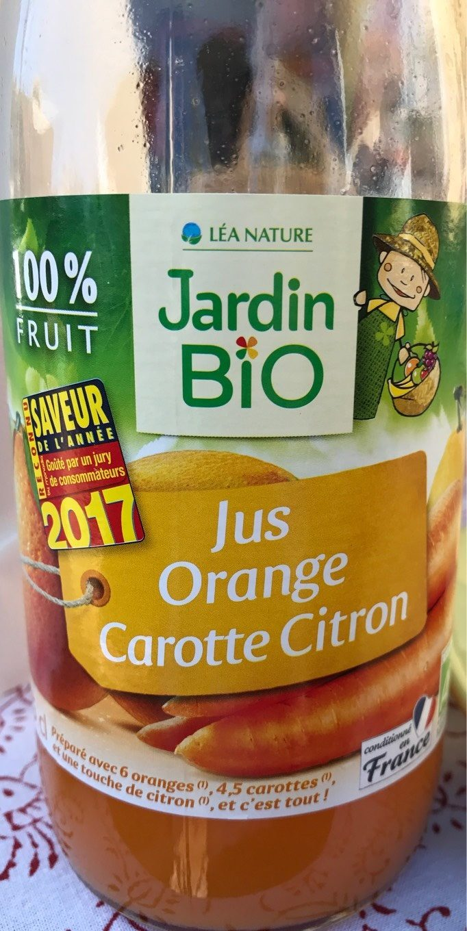 Cocktail Orange-Carotte-Citron - Product