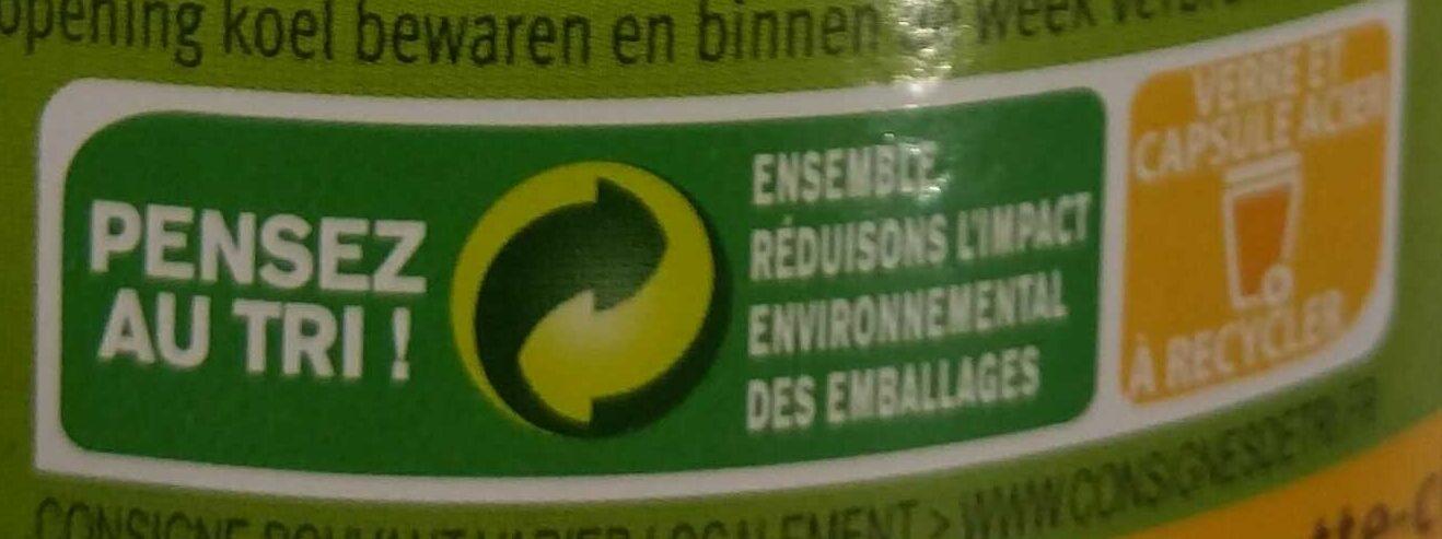 Jus Orange Carotte Citron - Recyclinginstructies en / of verpakkingsinformatie - fr