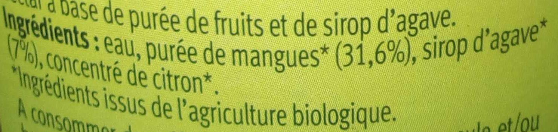 Mangue du Mexique - Ingrediënten - fr