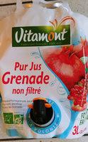 Jus de Grenade non filté - Product - fr