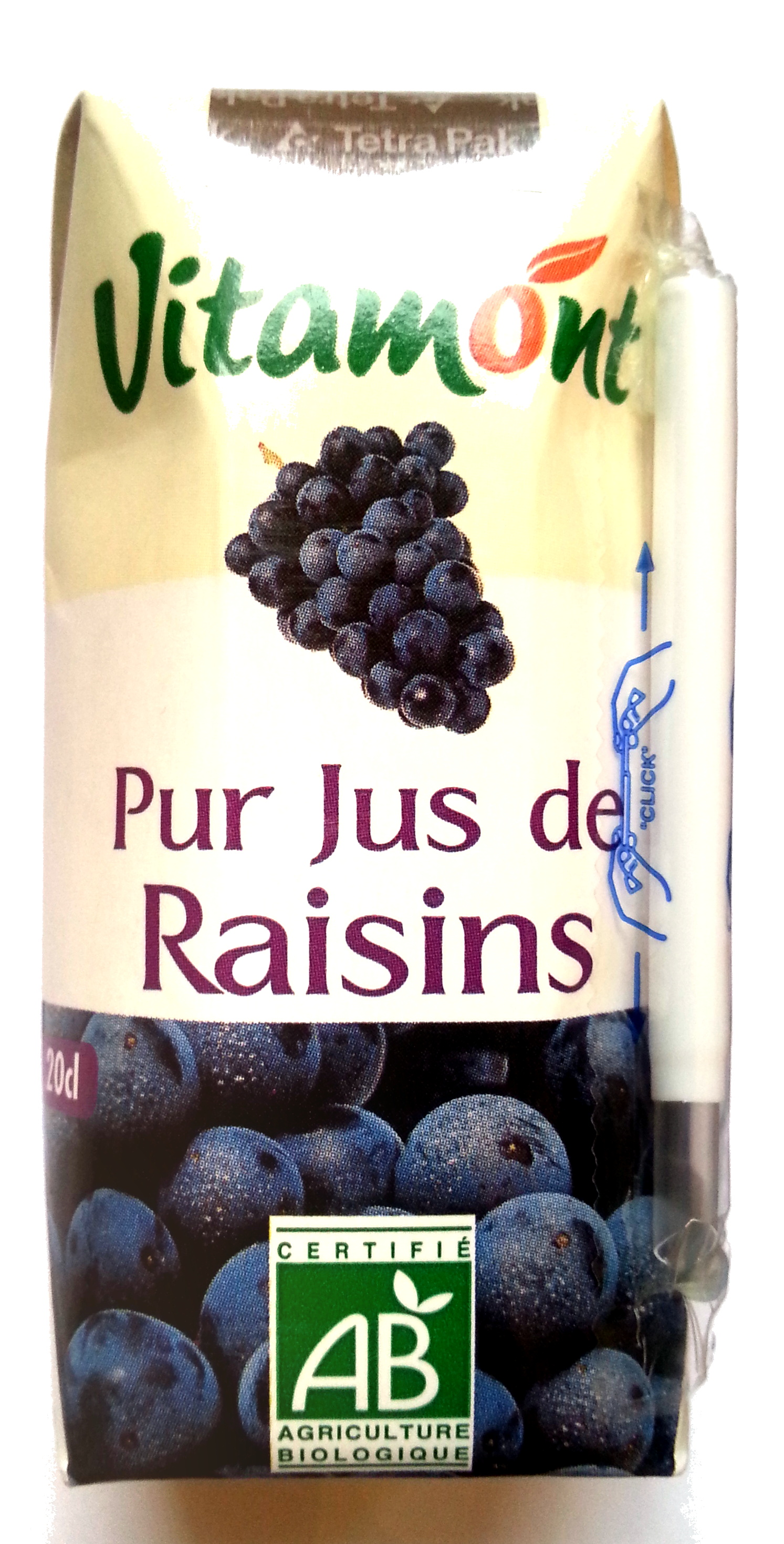 Pur jus de Raisins - 製品 - fr