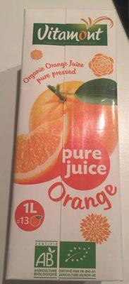 Pur jus d'oranges pressée bio Vitamont - Product