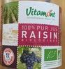 100% pur jus raisin biologique - Produit