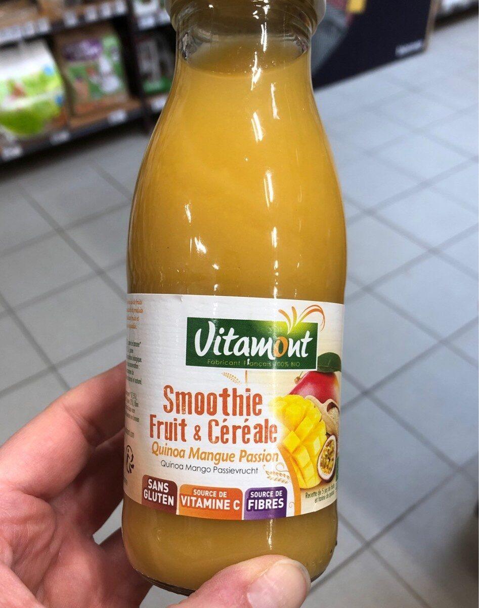 Smoothie fruit et cereale quinoa mangue passion - Produit