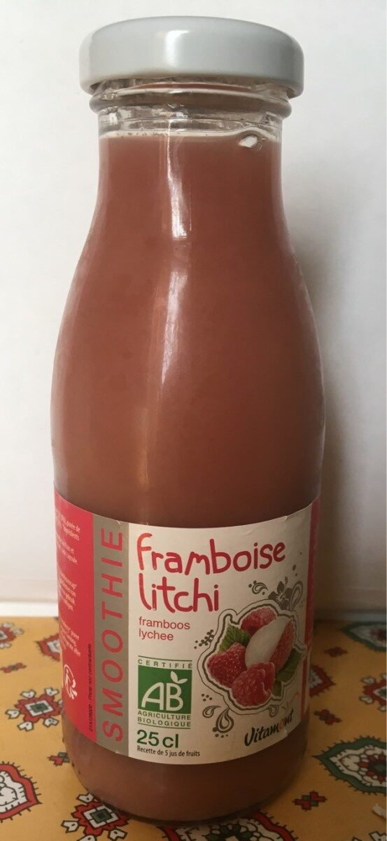 Smoothie framboise litchi - Prodotto - fr