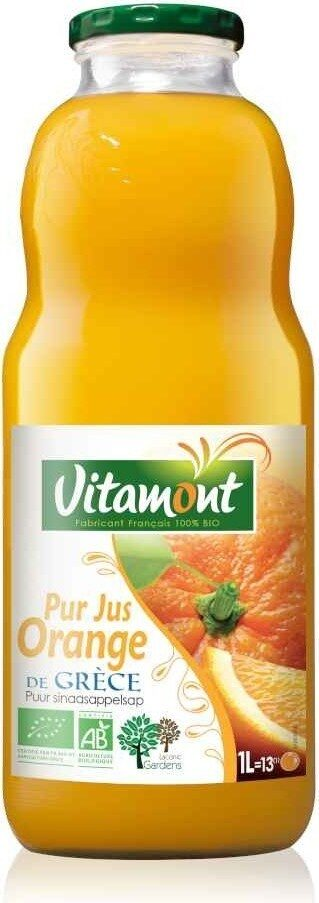 Pur jus d'orange de Grèce bio - Prodotto - fr