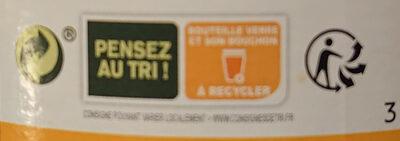 Pur jus d'orange de Grèce bio - Istruzioni per il riciclaggio e/o informazioni sull'imballaggio