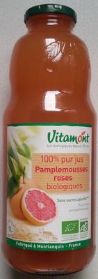 100% pur jus pamplemousses roses bio - Produit