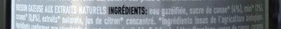 Cola équitable -30% de sucres - Ingredienti - fr