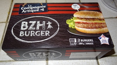 BZH Burger steak haché baçon - Product - fr
