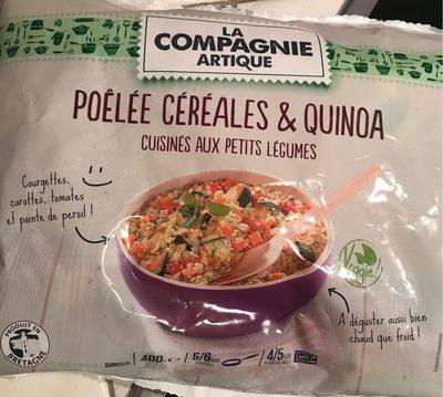 Poêlée céréales & quinoa cuisinés aux petits légumes - Produit - fr