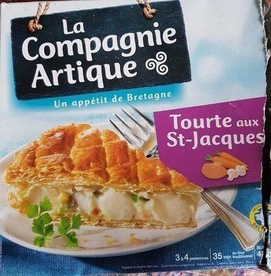 Tourte aux Noix de Saint Jacques - Product - fr