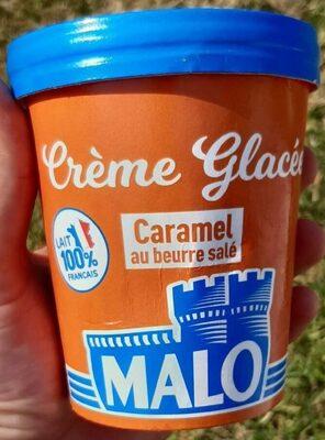 Crème glacée caramel beurre salé - Produit - fr