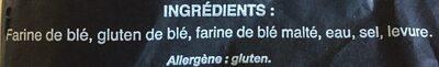 Pain de tradition française - Ingredienti - fr