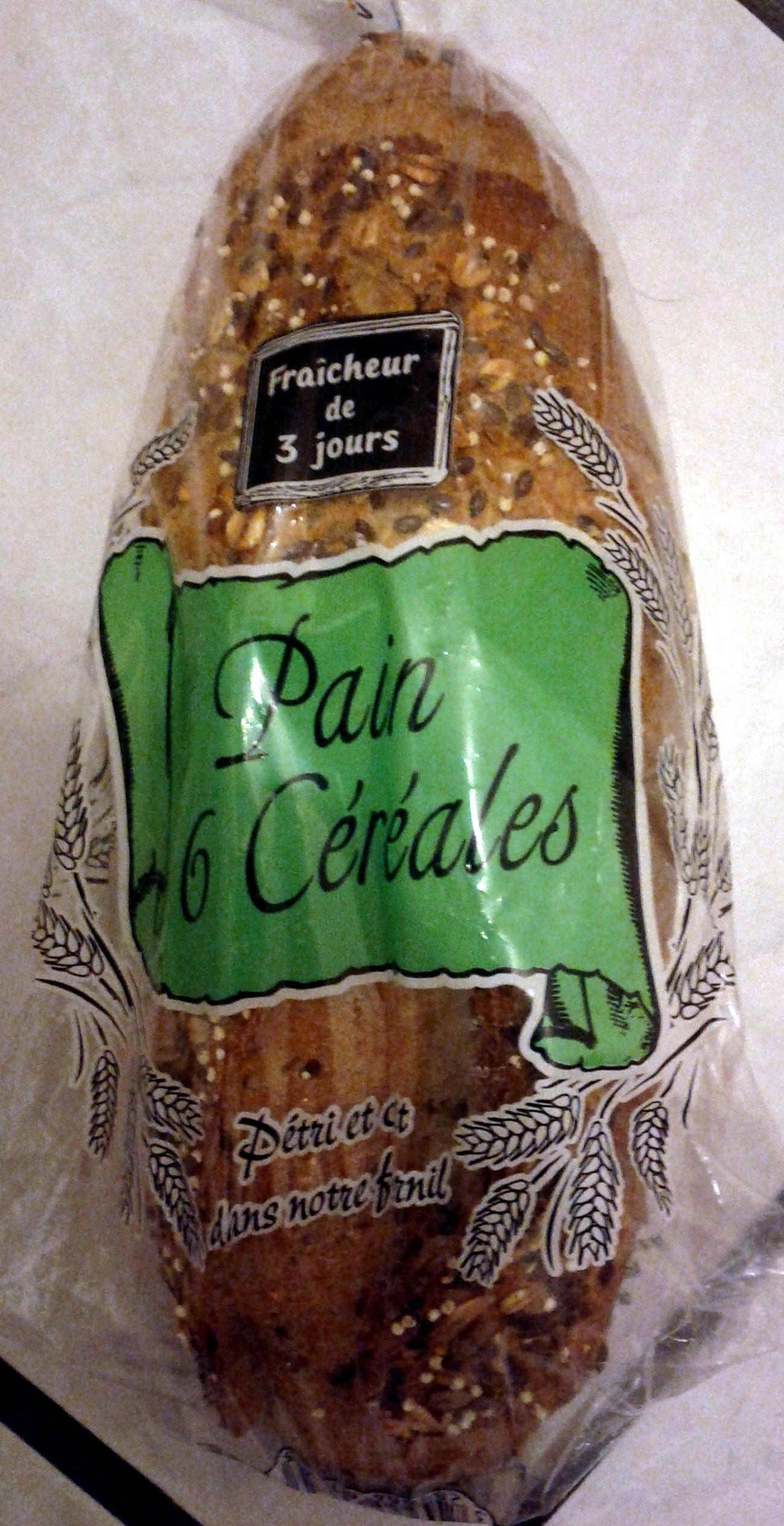 Pain aux 6 Céréales - Product