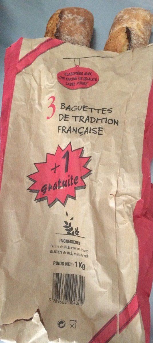 Baguettes  de tradition française - Prodotto - en