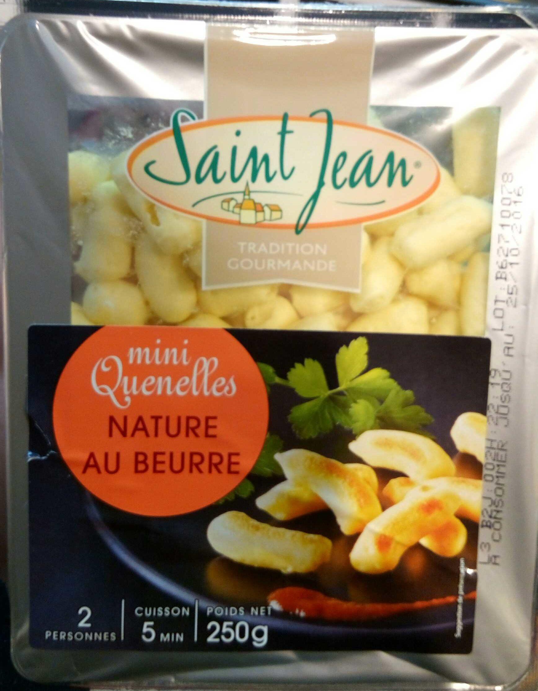 Mini quenelles nature au beurre - Produit