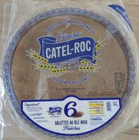 6 Galettes de ble noir fraiches CATEL ROC - Produit - fr