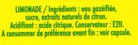Cot citron - Ingredienti - fr