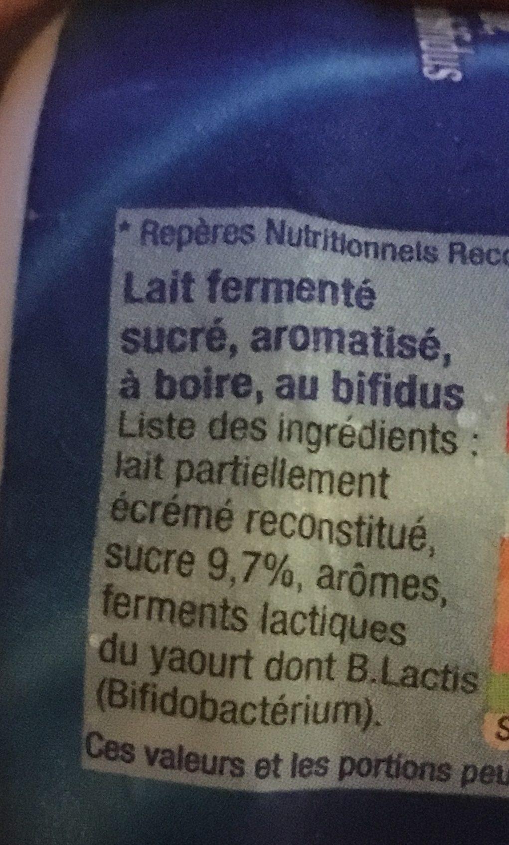 B de YOPLAIT - Ingredienti - fr