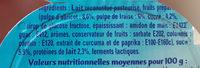Petit Filous Fraise / Abricot 60gx8 - Ingredienti - fr