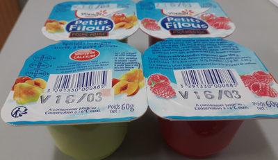 Petits Filous framboise pêche poire - Produit