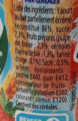 Yop - Ingredienti - fr