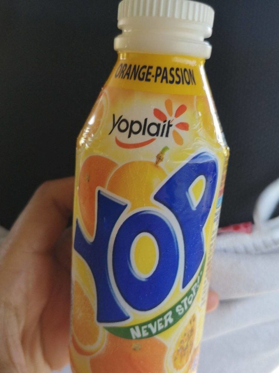 Yop orange passion - Product - fr