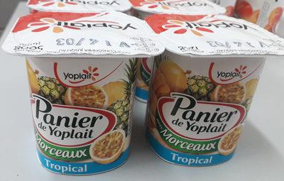 Panier tropical - Produit - fr