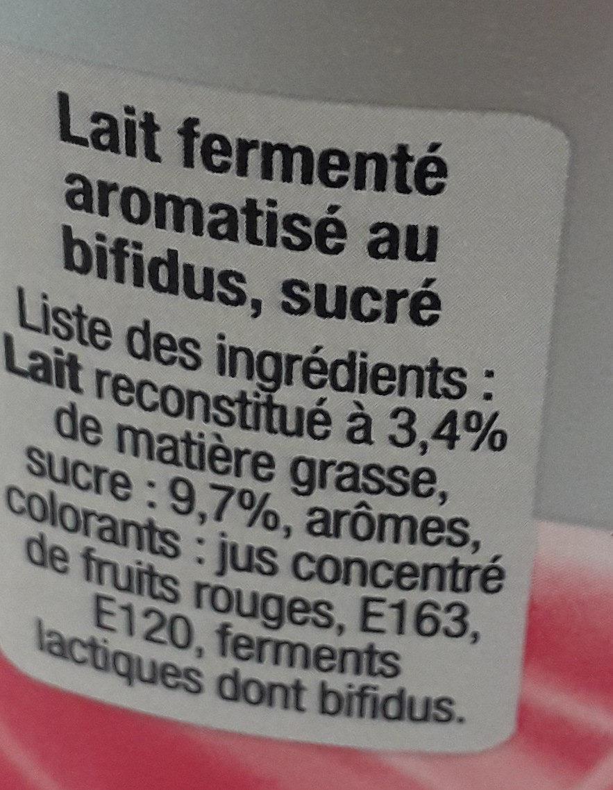 B de yoplait bifidus actif - Ingredienti - fr