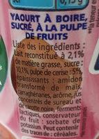Yop cerise - Ingrédients - fr