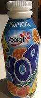 Yaourts à boire à la pulpe de fruits Yop tropical - Prodotto - fr