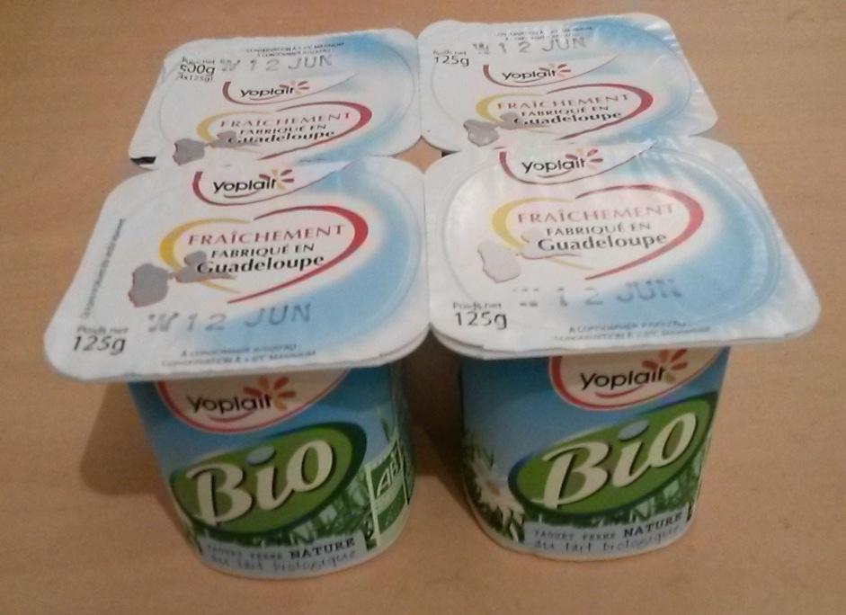 Yoplait Bio nature - Produit