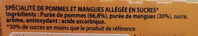 Caresse pomme mangue - Ingredients - fr