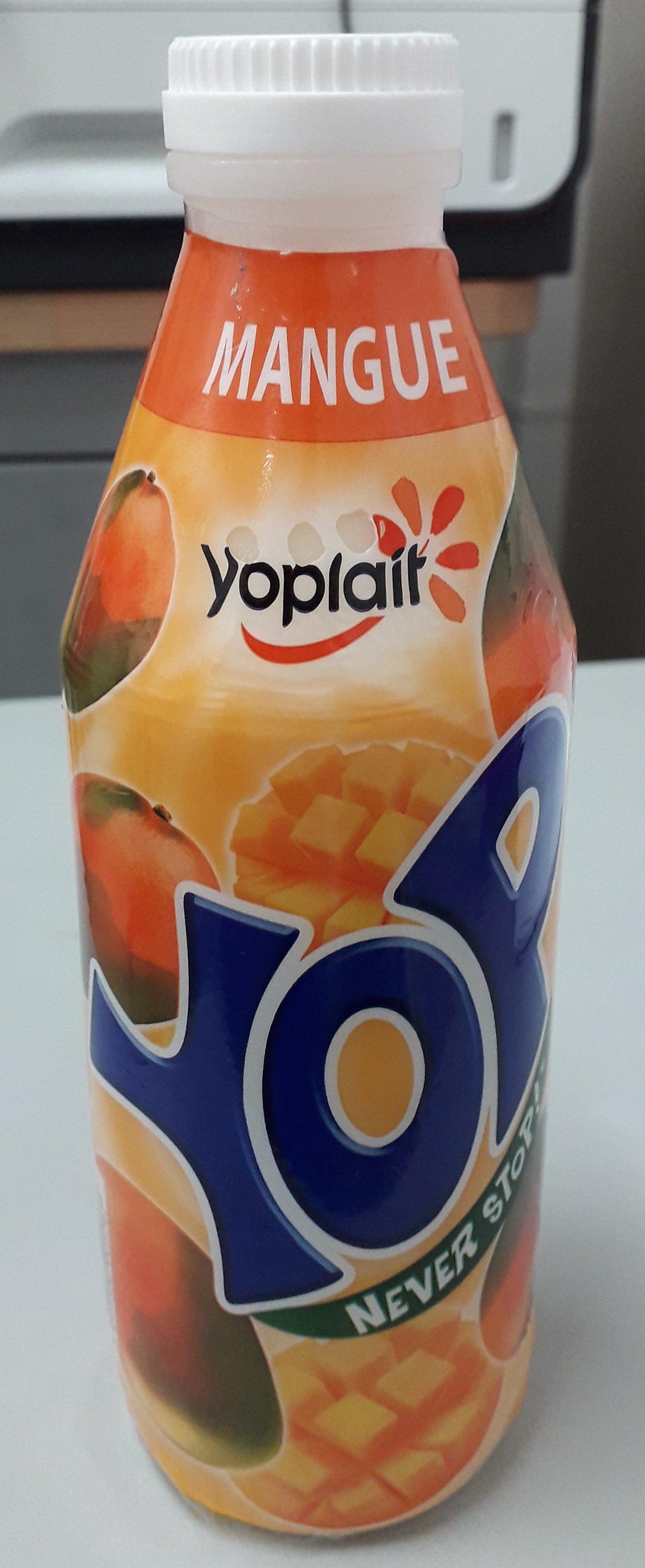 Yaourts à boire à la pulpe de mangue Yop mangue - Product - fr