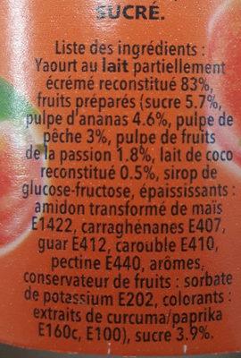 Caresse mixé yoplait - Ingrédients - fr